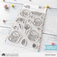 Mama Elephant - ZODIAC SNAKE, Leimasetti