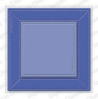 Impression Obsession -  Stitched Square Frame, Stanssi