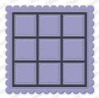 Impression Obsession -  Scalloped Nine-Patch, Stanssi
