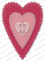 Impression Obsession - Eyelet Primitive Hearts, Stanssisetti