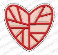Impression Obsession - Quilted Heart, Stanssi