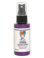 Dina Wakley - Media Gloss Spray, Eggplant, 56ml