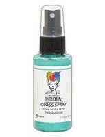 Dina Wakley - Media Gloss Spray, Turquoise, 56ml