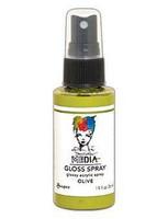 Dina Wakley - Media Gloss Spray, Olive, 56ml