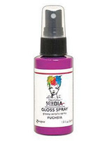 Dina Wakley - Media Gloss Spray, Fuchsia, 56ml