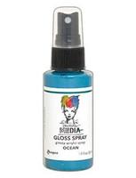 Dina Wakley - Media Gloss Spray, Ocean, 56ml