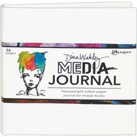 Dina Wakley Media - White Journal, 6