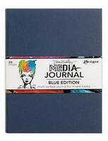 Dina Wakley Media - Blue Edition Journal, 8