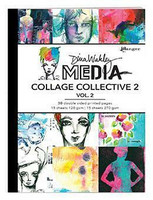 Dina Wakley Media - Mixed Media Collage Collective 2 Vol.2, 30arkkia
