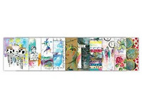 Dina Wakley Media - Mixed Media Collage Collective 2 Vol.1, 30arkkia