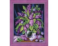 ArtMosfa - Gorgeous Lilac (K), Timanttimaalaus, 40x50cm