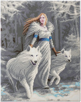 Craft Buddy - Winter Guardians (O)(P), Timanttimaalaus, 40x50cm