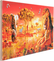 Craft Buddy - Safari Sunset (O)(P), Timanttimaalaus, 90x40cm