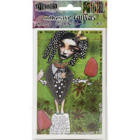 Dyan Reaveley's Dylusions - Adhesive Canvas Set #3, 8 kuvaa