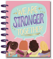 MAMBI - CLASSIC Happy Planner, Stronger Together, päivätty 18kk