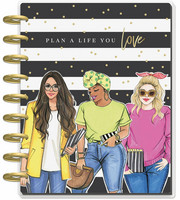 MAMBI - CLASSIC Happy Planner, RongRong Plan A Life You Love, päivätty 18kk