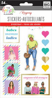 MAMBI - Happy Planner, Tarrasetti, 5 arkkia, Rongrong - Girls Support Girls