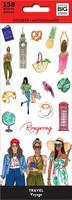 MAMBI - Happy Planner, Rongrong - Travel, Tarrasetti, 8arkkia