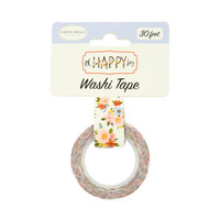 Carta Bella - Oh Happy Day Decorative Tape, 15mmx9m, Happy Day Floral