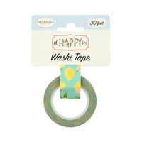 Carta Bella - Oh Happy Day Decorative Tape, 15mmx9m, Sweet Lemons
