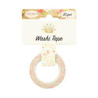 Carta Bella - Farmhouse Market Decorative Tape, 15mmx9m, Sweet Blooms