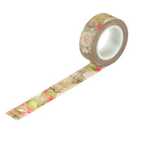 Carta Bella - Farmhouse Market Decorative Tape, 15mmx9m, Farmhouse Floral