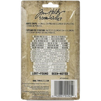 Tim Holtz - Idea-Ology Chipboard Quote Chips, Theories, 47kpl