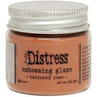 Tim Holtz - Distress Embossing Glaze, Tattered Rose (T), 14g