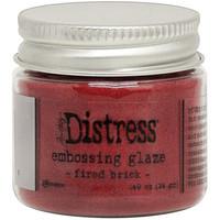 Tim Holtz - Distress Embossing Glaze, Fired Brick (T), 14g