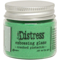 Tim Holtz - Distress Embossing Glaze, Cracked Pistachio (T), 14g