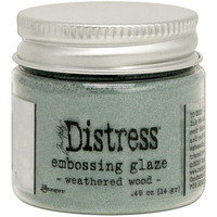 Tim Holtz - Distress Embossing Glaze, Weathered Wood (T), 14g