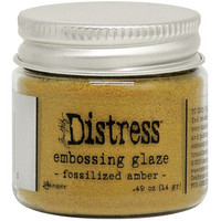 Tim Holtz - Distress Embossing Glaze, Fossilized Amber (T), 14g