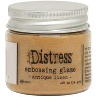 Tim Holtz - Distress Embossing Glaze,  Antique Linen (T), 14g