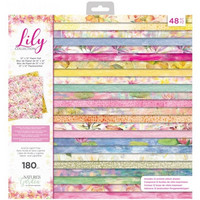 Crafter's Companion - Lily Collection, Paper Pad 12