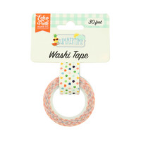 Echo Park - Summertime Decorative Tape, 15mmx9m, Summer Dot