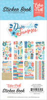 Echo Park - Dive Into Summer, Sticker Book, Tarrasetti