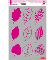 Pronty Crafts - Leaves, A4, Sapluuna- & Maskisetti