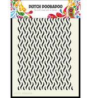Dutch Doobadoo - Floral Waves, A5, Sapluuna