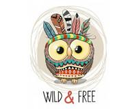 Collection D'Art - Wild & Free (K)(N), Timanttimaalaus, 19x27cm
