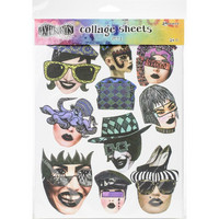 Dyan Reaveley's Dylusions - Collage Sheets, Set 1, 24 arkkia