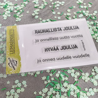 Korttipaja.fi - Jouluntoivotukset, Leimasinsetti