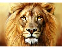Collection D'Art - Lion (K)(N), Timanttimaalaus, 38x27cm
