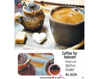 Collection D'Art - Coffee for beloved (K)(N), Timanttimaalaus, 38x27cm