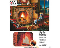 Collection D'Art - By the fireside (K)(N), Timanttimaalaus, 48x38cm