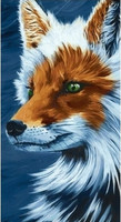 Collection D'Art - Sly fox (K)(N), Timanttimaalaus, 38x70cm