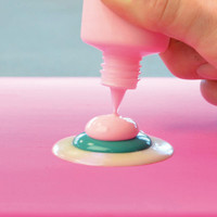 Viva Decor - Blob Paint, Tiplumaali, Gray, 90ml