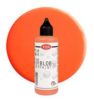 Viva Decor - Blob Paint, Tiplumaali, Neon Orange, 90ml
