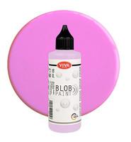Viva Decor - Blob Paint, Tiplumaali, Rose, 90ml