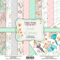Fabrika Decoru - Scent Of Spring, 8'x8', Paperikko