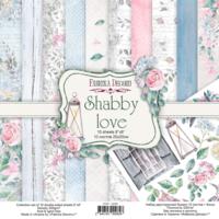 Fabrika Decoru - Shabby Love, 8'x8', Paperikko